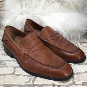 DONALD by Donald Pliner Alford 161 Leather Loafer